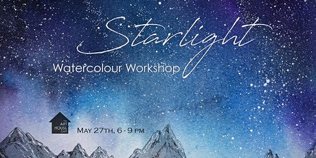 [POSTPONED] Starlight - Watercolour Workshop tickets