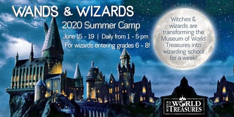2020 Wands & Wizards Summer Camp tickets