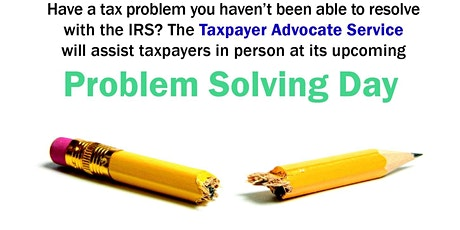 Tax Problem Solving Day @ Bergen Community College at the Meadowlands tickets