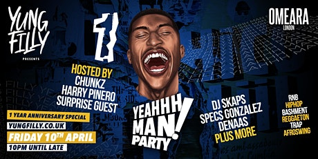 Yung Filly Presents - YeahhhMan Parties 1 Year Anniversary tickets