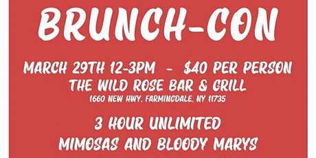 Brunch-Con tickets