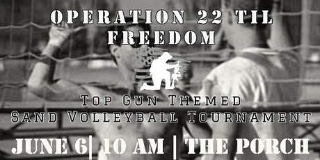 Operation 22 til Freedom's Sand Volleyball Tournament tickets
