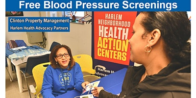 Free Blood Pressure Screenings - Clinton Property