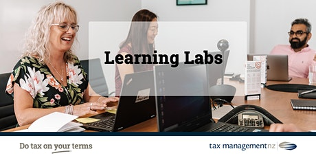 EXAMPLE - TMNZ Learning Lab. tickets