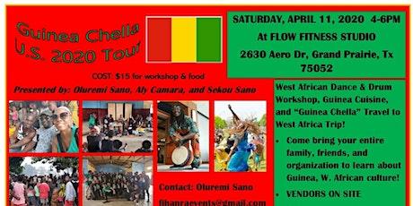 Guinea Chella! U.S. Tour 2020 DFW tickets