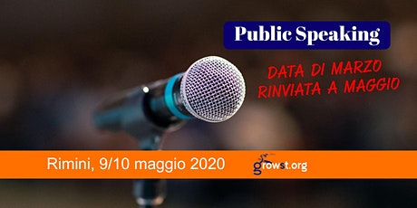 Public Speaking biglietti