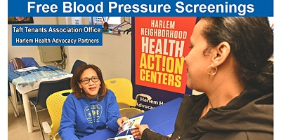 Free Blood Pressure Screenings - Taft Tenants Asso