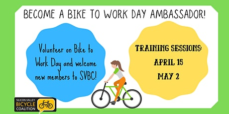 Bike to Work Day Ambassador Training tickets