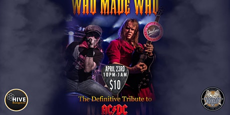 WHO MADE WHO - AC/DC Tribute tickets