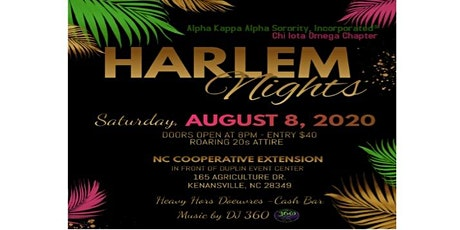 Harlem Nights tickets