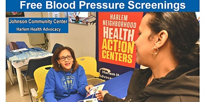 Free Blood Pressure Screenings - Johnson Community