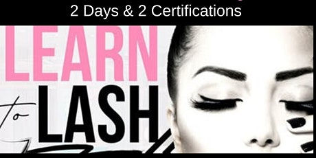 APRIL 1-2 TWO-DAY CLASSIC & VOLUME LASH EXTENSION CERTIFICATION TRAINING tickets