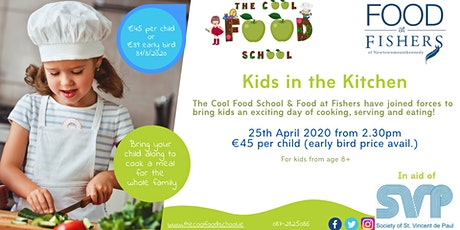 Kids in the Kitchen with The Cool Food School and Food at Fishers tickets