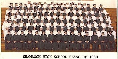 Shamrock High School Reunion -  Class of 1980 tickets