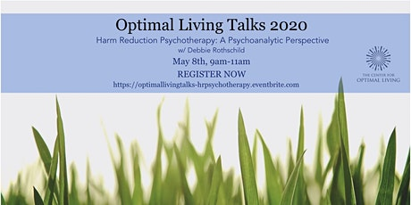 Harm Reduction Psychotherapy: A Psychoanalytic Perspective tickets