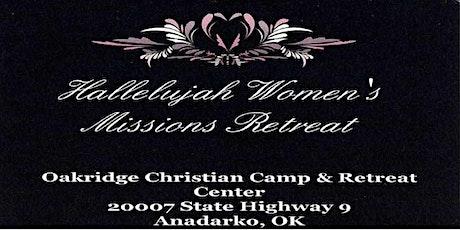 Hallelujah Womens Retreat tickets