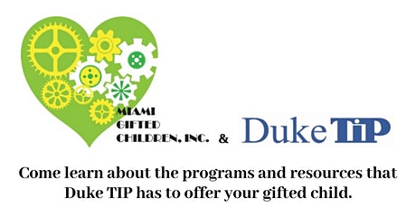 Duke TIP Resources for Gifted & Talented Students tickets