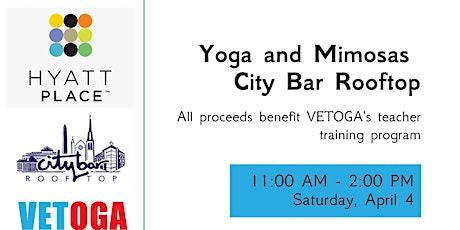 VETOGA Yoga and Mimosa tickets