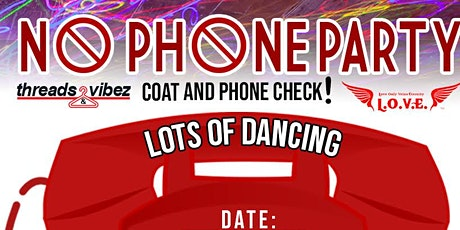 No Phone Party tickets