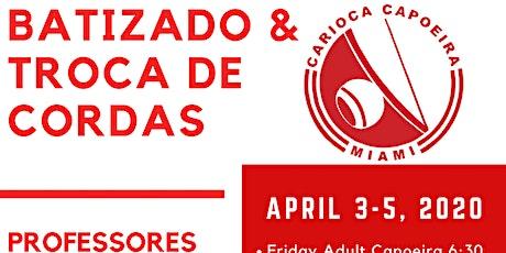 Capoeira Workshops & Batizado tickets