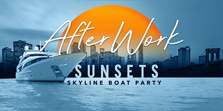 After Work Thursday Sunset Yacht Cruise Latin Hip Hop Boat Party  tickets