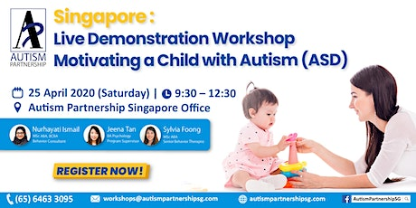 [POSTPONED] Live Demonstration – Motivating a Child with Autism (ASD) tickets