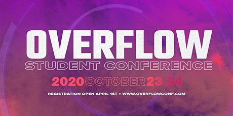 Overflow Student Conference tickets