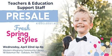 KCC SW Pittsburgh Teachers & Education Support Staff Presale tickets
