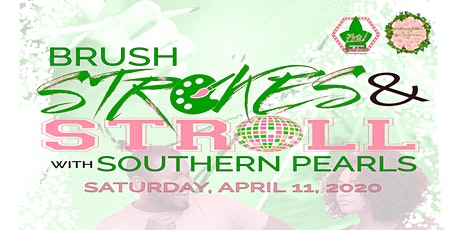 POSTPONED -- Brush Strokes & Stroll with Southern Pearls tickets