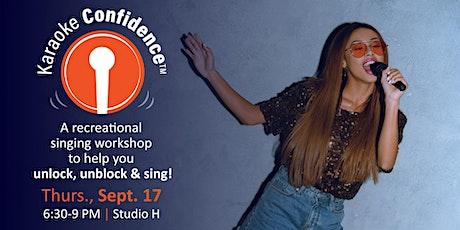 Karaoke Confidence Workshop 9/17/20 tickets