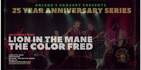 Lion In The Mane and The Color Fred w/ Hello Halo at Arlene's Grocery (NYC) tickets