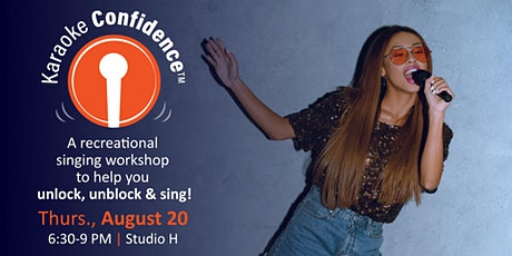 Karaoke Confidence Workshop 8/20/20 tickets