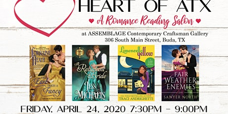 CANCELLED--June 19th  Heart of ATX Romance Reading Salon tickets