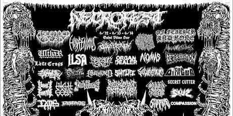 Necrofest '20, Day 3: Secret Cutter, No/Mas, Organ Dealer, & more tickets