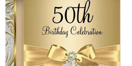 Katherine Benavides suprised 50th Birthday Party tickets