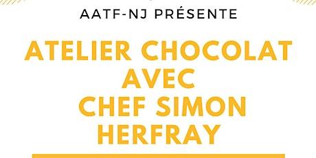 Atelier chocolat avec Chef Simon Herfray tickets