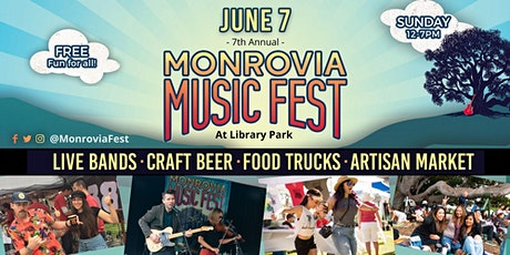 7th Annual Monrovia Music Fest tickets