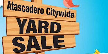 2020 Atascadero City Wide Yard Sale tickets