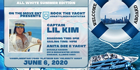 Lil Kim Yacht Party All White Summer Edition tickets