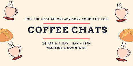 USC MSSE Alumni Coffee Chat: Downtown tickets