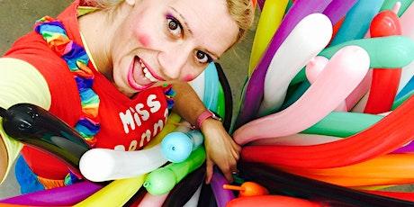 Kids Balloon Twisting Workshop tickets