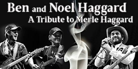 Ben & Noel Haggard tickets
