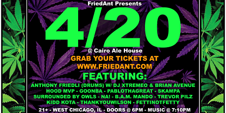 4/20 at Cairo Ale House tickets