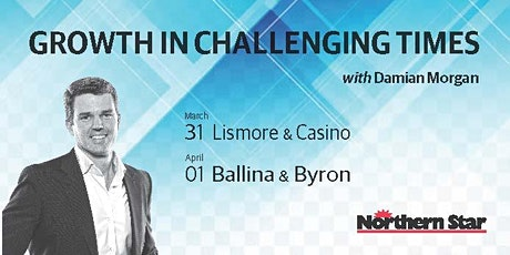 GROWTH IN CHALLENGING TIMES - BYRON BAY tickets