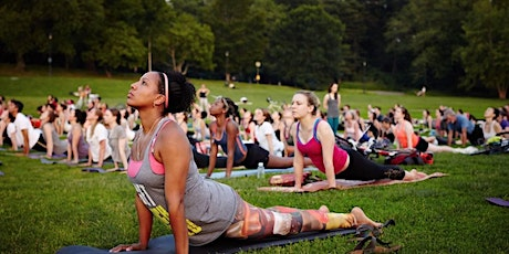 Yoga in the Park Summer Series tickets