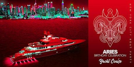Aries Birthday Celebration: Yacht Cruise (Pier 40) - April 17th tickets