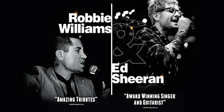 Joe Boshell's (UK) Robbie Williams & Ed Sheeran Tribute tickets