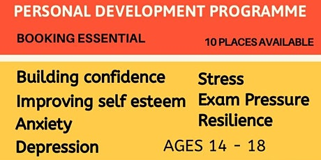 Personal Development group for 13-16 year olds tickets