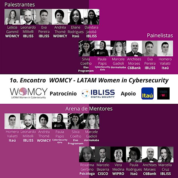 Imagem do evento 1o. Encontro WOMCY - Estratégia, Gestão de Riscos, DevSecOps e Mentoria