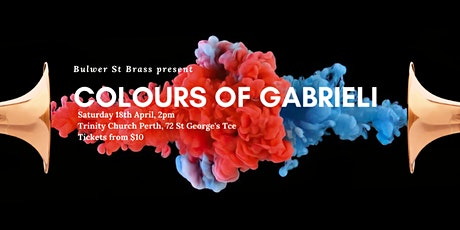 Colours of Gabrieli tickets